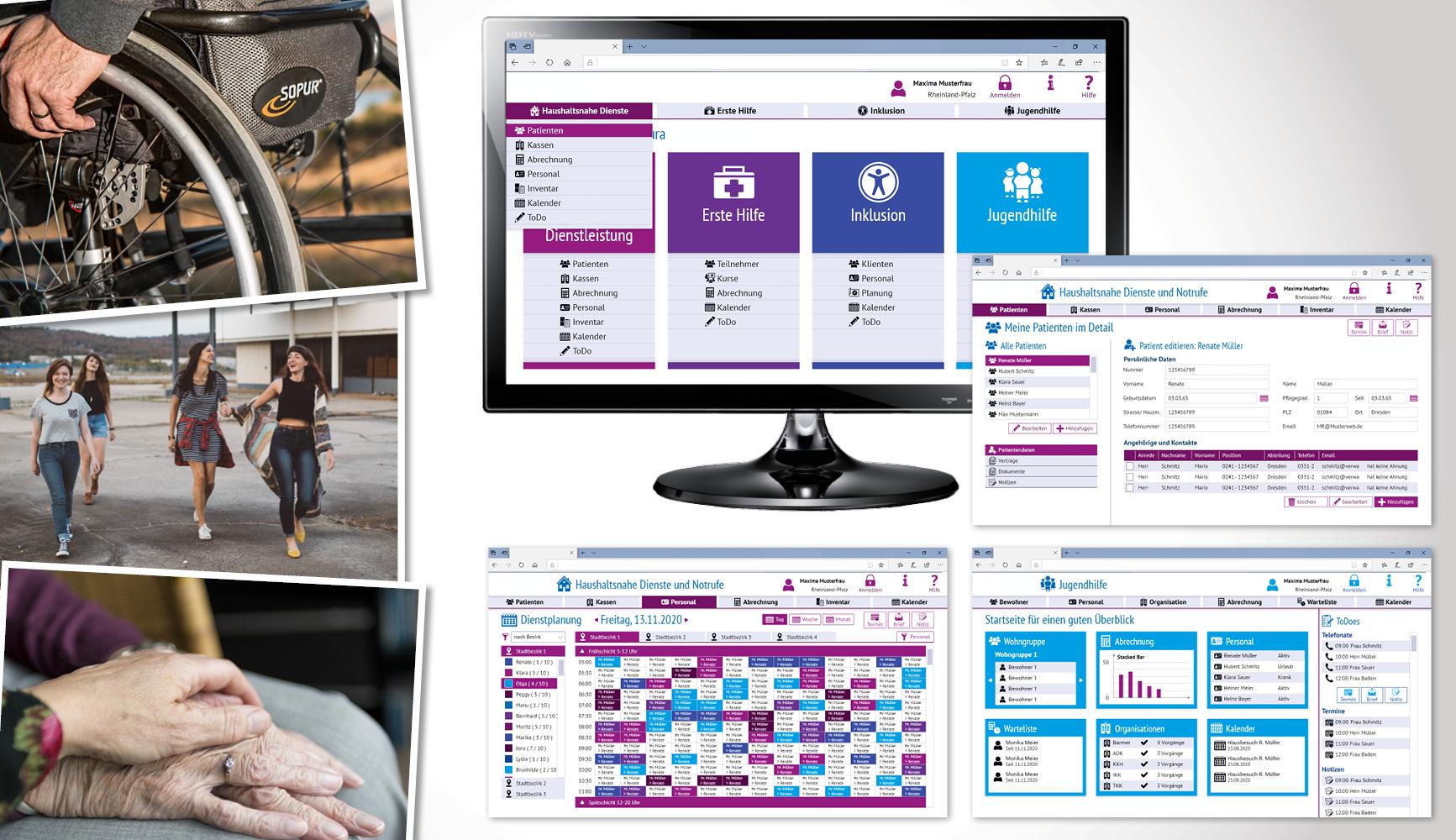 Verwaltungssoftware für Sozialunternehmen