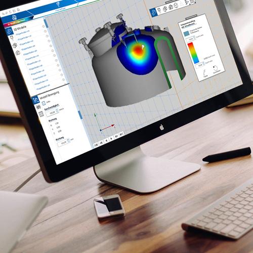 Referenz 2020 – UI Design und Entwicklung – Branche Industrielle Reinigung