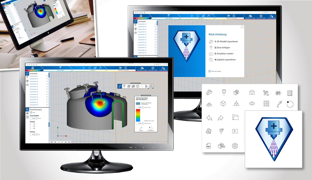 Software für 3D-Volumen-Messungen