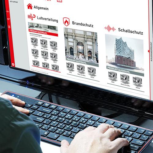 Referenz 2020 – UI Design – Branche Bauindustrie