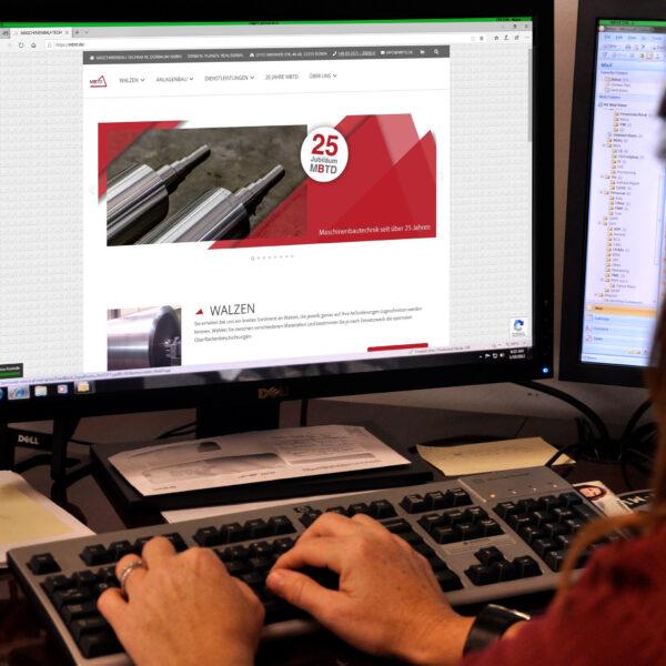 Referenz 2020 – Erstellung und Gestaltung WordPress Webseite – Branche Maschinenbau