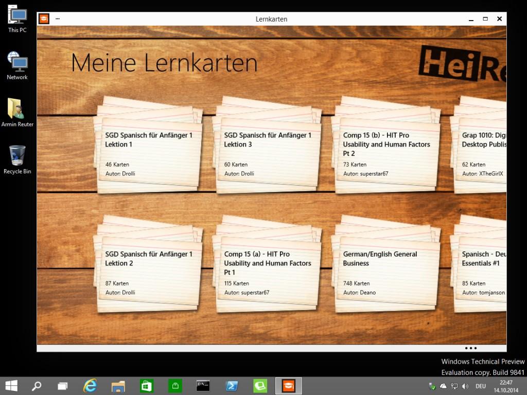 Windows10TechnicalPreview_MeineLernkarten_windowed